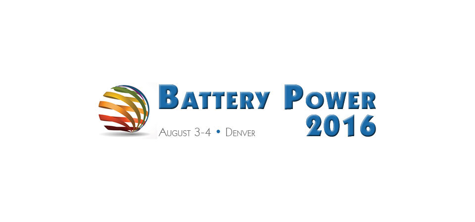 WALLNER EXPAC TO EXHIBIT FOR THE FIRST TIME AT BATTERY POWER 2016