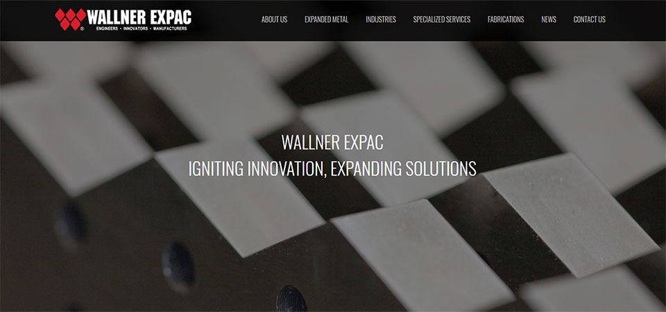 WALLNER EXPAC LAUNCHES NEW WEBSITE