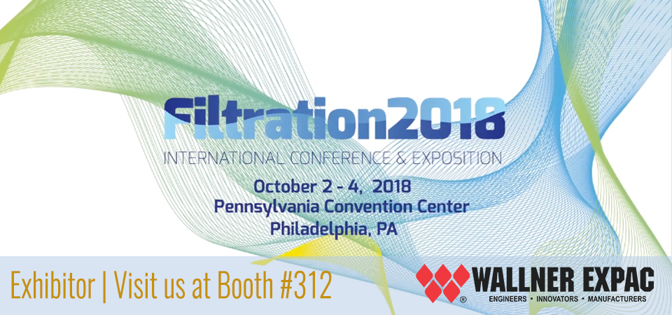 WALLNER EXPAC TO EXHIBIT AT THE FINAL FILTRATION INTL. CONFERENCE AND EXPO