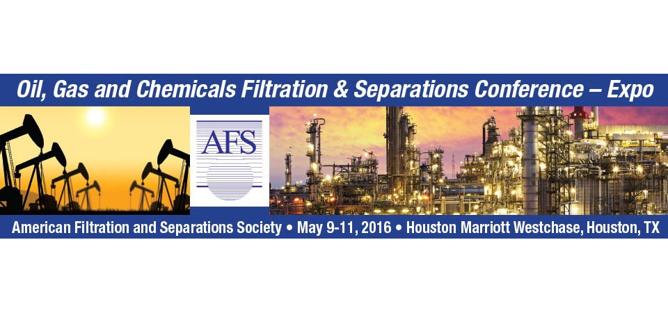 WALLNER EXPAC TO EXHIBIT FOR THE FIRST TIME AT AFS OIL, GAS AND CHEMICALS FILTRATION & SEPARATIONS CONFERENCE- EXPO