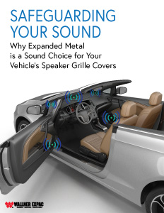 White Paper- Expanded Metal for Automotive Speaker Grilles